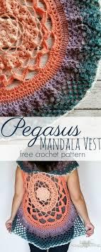 Crochet Mandala Vest Pattern Free Amazing Decorating Design