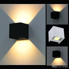 led outdoor wall sconce led wall lamps led outdoor wall sconce waterproof modern warm white 2 led outdoor wall sconce