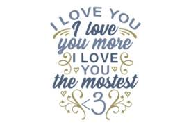 The svg and dxf can be imported to a number of paper craft programs, such as silhouette cameo and cricut. I Love You I Love You More Svg Cut Files Download Best Free 16069 Svg Cut Files For Cricut Silhouette And More