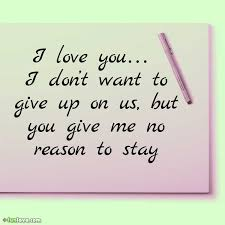 Giving Up On Love Quotes Classy Giving Up On Love Quotes