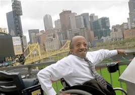 for those disabilities finding jobs can be especially chaz kellem who works in community affairs for the pittsburgh pirates poses at pnc