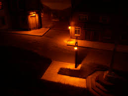 Miniature Village Street Lights Add Lights To Your Model Railway Railroad 4 Steps