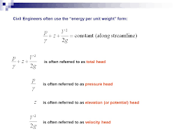 head loss equation bernoulli. 2 civil head loss equation bernoulli