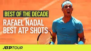 Rafael Nadal Best ATP Shots 2010-2019