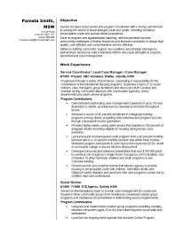 Example Of Social Work Resume Best Social Worker Resume Example