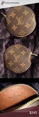 louis vuitton used purses. authentic louis vuitton round coin purse used purses