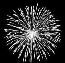 無料ダウンロードのための白い花火素材 打ち上げ花火 祝日 正月png画像素材