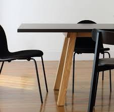 expandable dining table ka ta: dining table massive oak wood and white stained