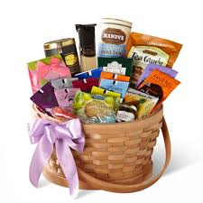 Christmas gift basket with gourmet teas, chocolate delivery and jam for  christmas