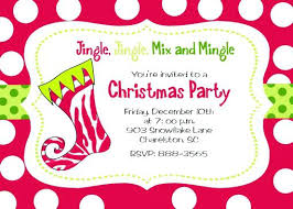 Sample Christmas Party Invitation What To Write On A Party
