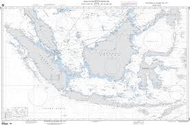 Ocean Charts Nga Nautical Chart 632 Strait Of Malacca To Banda Sea Including South China Sea Java Sea And Celebes Sea