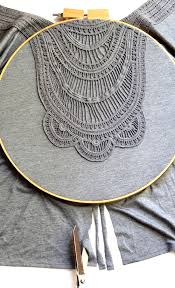 Dream Catcher Shirt Diy Upcycled Dreamcatcher DIY Embroidery hoop Dreamcatcher Craft 37