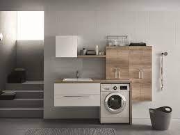 wall mounted laundry room cabinet by arblu