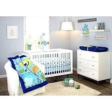 baby monsters inc 3 piece crib bedding set boys nursery room toddler new boy disney