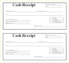 printable receipts free free receipt template pdf