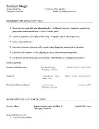 Sukhjot Singh Security Guard Job resume. Sukhjot Singh 33 Grey Wolf Bay  Telephone: (204) 260-9713 Thompson Manitoba ...