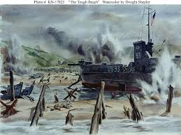 the tough beach by dwight shepler disasters famous historical events visual arts world war ii