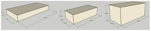 size of a brick fireclay bricks shapes kcipl