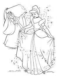 Tuyển tập những tranh tô màu công chúa lọ lem đẹp nhất - Tranh Tô Màu cho bé