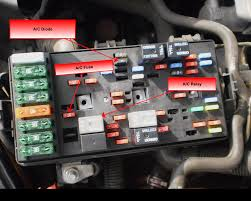 jwr automotive diagnostics saturn l looking back at the diagram i see there is a diode on the power side of the relay this diode is there to suppress voltage spikes when the compressor clutch