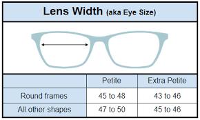 What Size Are Petite Glasses Petiteglasses Com