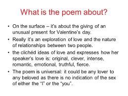 valentine poem by carol ann duffy essay valentine gift valentine carol ann duffy essay plan essays on living a