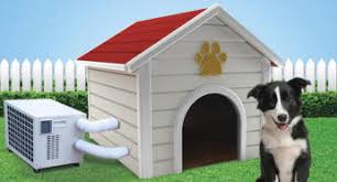 air conditioning dog house. climateright dog house a/c - cr-2500-ach air conditioning h