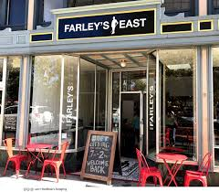 today is the official grand reopening of farley s east who remodeled to include the next door space formerly subway so they now offer more space