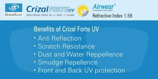 Crizal Availability Chart 2018 Crizal Forte Uv 1 59 Airwear Single Lenses Online From