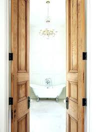 narrow interior french doors french bathroom doors reclaimed interior doors made from old growth cypress tailored narrow interior french doors