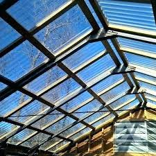 clear roofing panels corrugated view from inside greenhouse roof panel home depot plastic sheets c canada