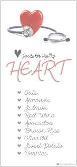 Heart Attack Chart 9 Good Foods For Healthy Heart A Diet Chart For Heart