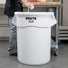 white trash can. White Trash Can