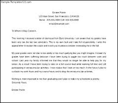 Dismissal Appeal Letter Ibovjonathandedecker Delectable Academic Appeal Letter