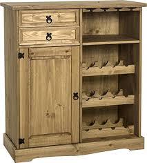 sideboard with wine rack. Perfect Wine Corona SideboardWine Rack Unit In Distressed Waxed Pine On Sideboard With Wine