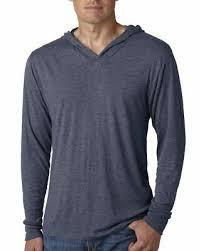 Next Level Raglan Shirt Size Chart Next Level Apparel Mens Tri Blend Long Sleeve Hoodie