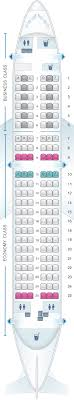 A319 Seating Chart Seat Map Lufthansa Airbus A319 Seatmaestro