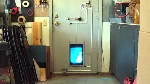 electronic cat door completed