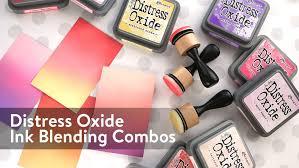 Distress Ink Color Chart 2017 Distress Oxide Ink Blending Color Combinations 1