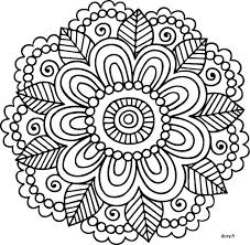 Small Picture 755 best Coloring Mandalas images on Pinterest Coloring books