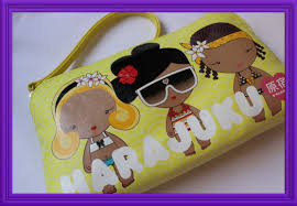 harajuku summer makeup bag