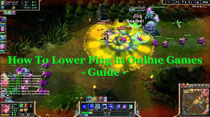 how to lower ping latency in lol dota 2 and other games