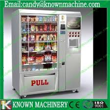Fruit Vending Machines Delectable Fruit Vending Machine With Lcd Advertising Screen With Coin Acceptor