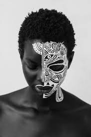 the french and senegalese visual artist challenges notions of race and gender through her collage and