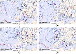 Synoptic Analysis Charts At 00 00 Utc Upper Panels For