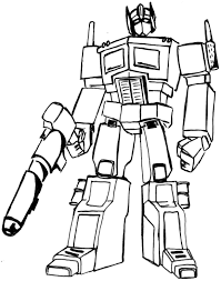 Small Picture Transformers Colouring Pages