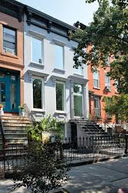 New York City Row House Renovations We Love International - Exterior house renovation