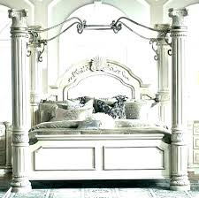 Queen Canopy Bed Frame Craigslist Beds For Sale Twin Plans