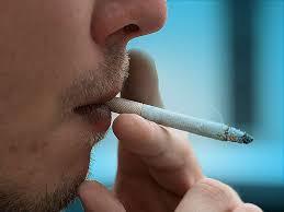 dark lips due to excess smoking