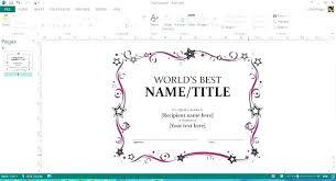 Microsoft Office Training Certificate Ms Office Certificate Template Office Marriage Certificate